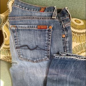 7 For All Mankind Bootcut 28
